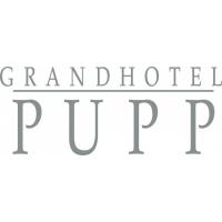 logo GRANDHOTEL PUPP Karlovy Vary, akciová společnost