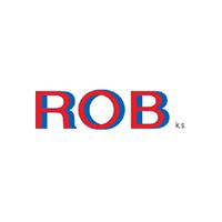 logo ROB k.s., společnost pro výrobu a prodej strojního zařízení