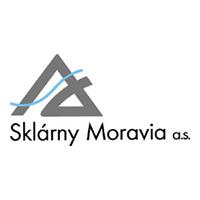 logo SKLÁRNY MORAVIA, akciová společnost