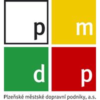 logo Plzeňské městské dopravní podniky, a.s.